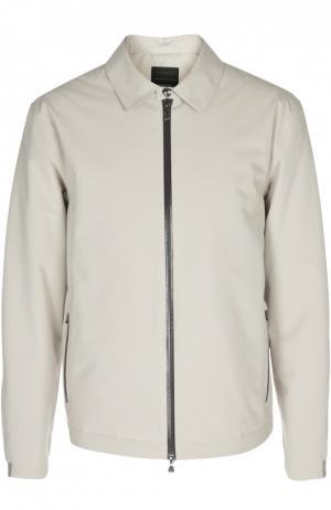 Куртка Z Zegna. Цвет: бежевый