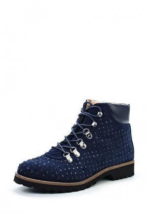 Ботинки Andre. Цвет: синий