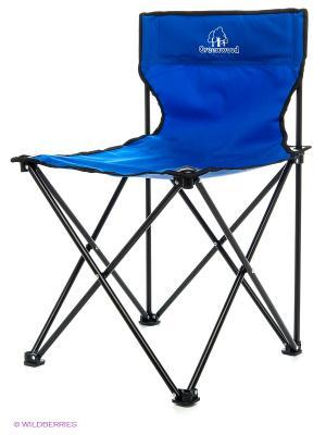 Кресло складное без подлокотников GREENWOOD. Цвет: синий, черный