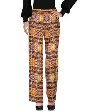 Повседневные брюки ATOS LOMBARDINI. Цвет: охра