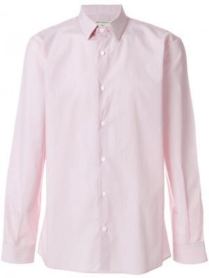 Рубашка с французским воротником Éditions M.R. Цвет: красный