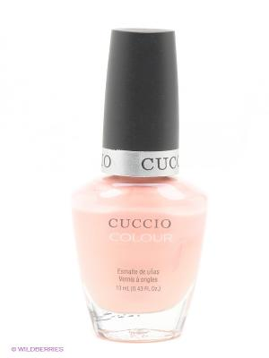 Лак Cuccio Colour Lifes a Peach, 13 мл, персик. Цвет: персиковый
