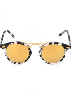 Солнцезащитные очки St. Louis Krewe Du Optic. Цвет: чёрный