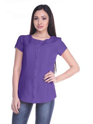 Блуза Laura Bettini. Цвет: сиреневый