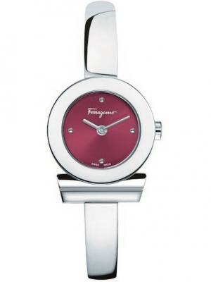 Часы Salvatore Ferragamo. Цвет: красный