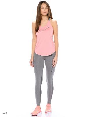 Тайтсы NP CL TIGHT Nike. Цвет: серый, черный