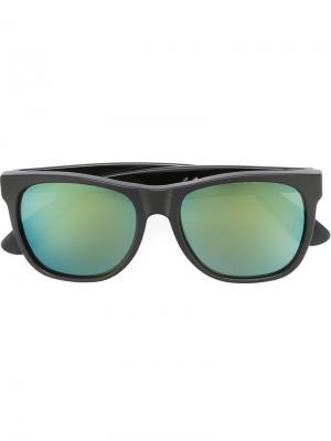 Солнцезащитные очки Classic Patrol Retrosuperfuture. Цвет: чёрный