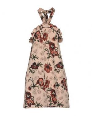 Короткое платье NINEMINUTES. Цвет: пастельно-розовый
