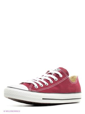 Chuck Taylor All Star Seasonal Converse. Цвет: бордовый, белый