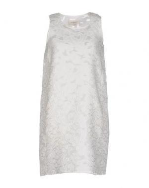Короткое платье JILL STUART. Цвет: белый