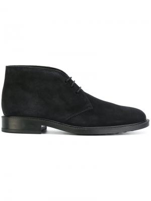 Lace-up boots Tods Tod's. Цвет: синий