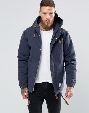 Fat Moose Темно-синяя куртка Sailor. Цвет: темно-синий