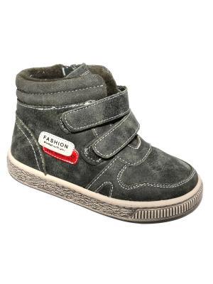 Ботинки Капитошка.. Цвет: зеленый