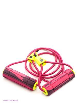 Эспандер Nike Long Length Medium Resistance Band 2.0. Цвет: фуксия
