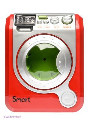 Игровой набор Стиральная машина Smart HTI. Цвет: красный, серебристый