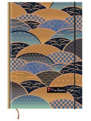 Еженедельник недатированный обложка 7БЦ, А5, 100 листов Pierre Cardin Japanese. Цвет: коричневый