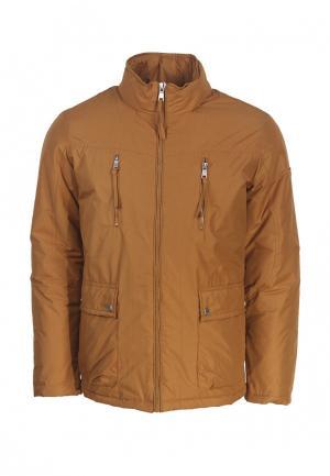 Куртка утепленная Fanfaroni. Цвет: оранжевый