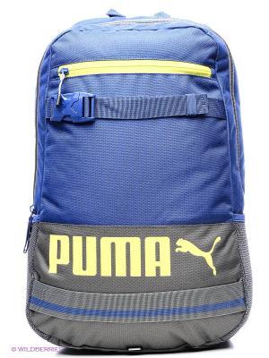 Рюкзак PUMA Deck Backpack. Цвет: синий