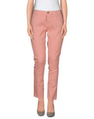 Повседневные брюки TRUE NYC.. Цвет: лососево-розовый