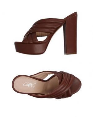 Сандалии CARLA G.. Цвет: коричневый