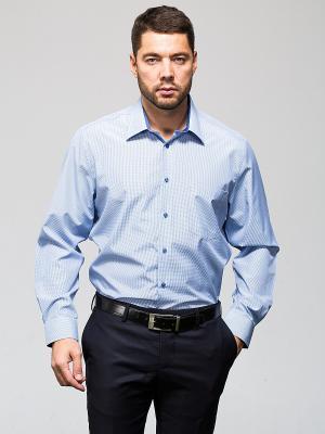 Рубашка John Jeniford. Цвет: синий