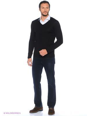 Пуловер Alcott. Цвет: черный, темно-серый