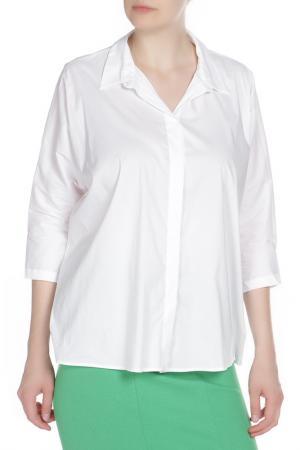 Блузка Liviana Conti. Цвет: белый