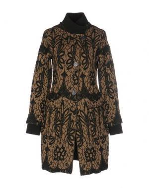 Легкое пальто APPARTAMENTO 50. Цвет: темно-зеленый