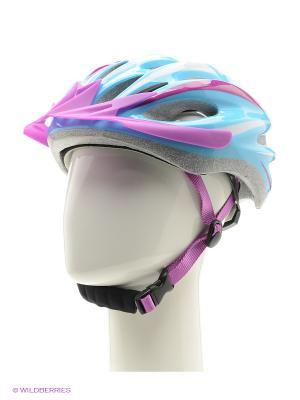 Шлем Cyclotech. Цвет: голубой, фиолетовый