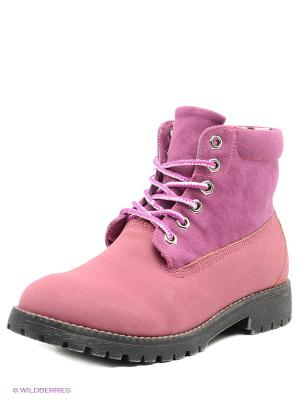 Ботинки KEDDO. Цвет: фуксия