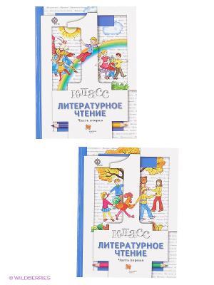 Учебник. Литературное чтение. 1 кл. (Комплект в 2-х ч. ) Издание. 3 Вентана-Граф. Цвет: белый