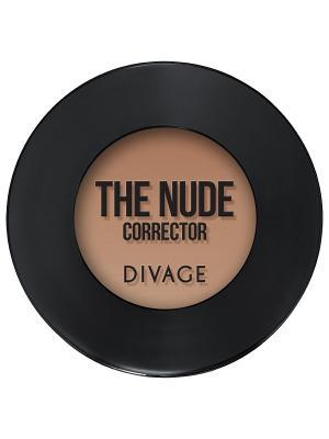 Кремовый корректор the nude, тон 03 DIVAGE. Цвет: коричневый