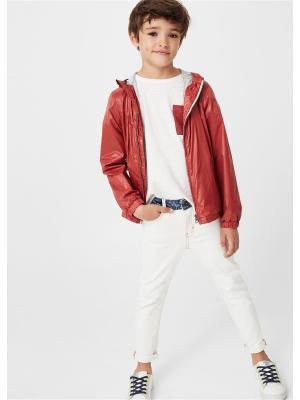 Куртка - REVER Mango kids. Цвет: красный