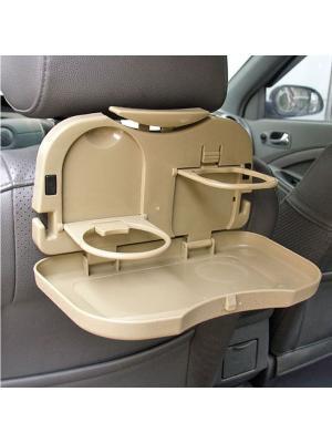 Раскладной столик для заднего сидения автомобиля. Blonder Home. Цвет: бежевый