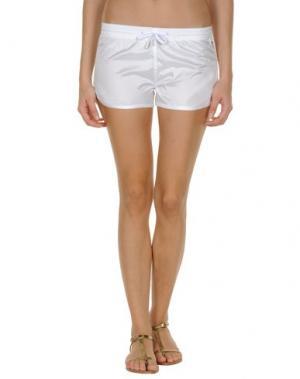 Пляжные брюки и шорты PANTONE. Цвет: белый