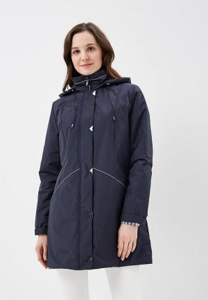Куртка утепленная Maritta. Цвет: синий