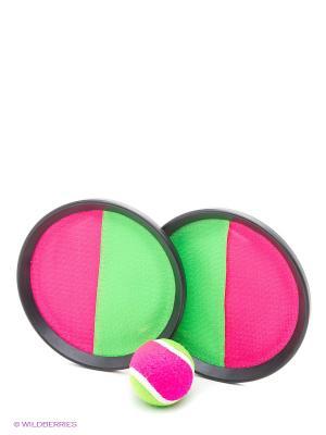 Набор Кетчбол S744 Start Up. Цвет: зеленый, фуксия, черный