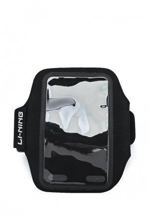 Чехол для iPhone Li-Ning. Цвет: черный