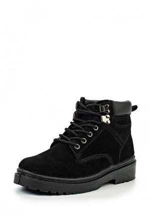 Ботинки 2Moons. Цвет: черный