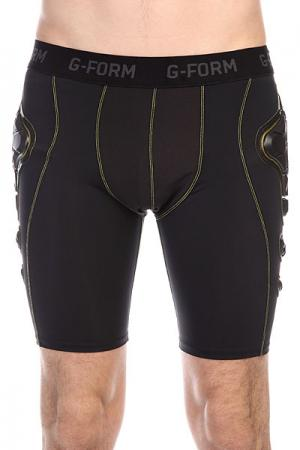 Защита на бедра  Pro-G Shorts Black/Yellow G-Form. Цвет: черный