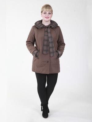 Куртка VIKO. Цвет: светло-коричневый
