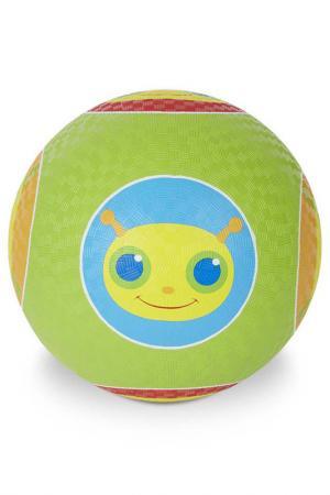 Мяч Гусеница Melissa & Doug. Цвет: зеленый
