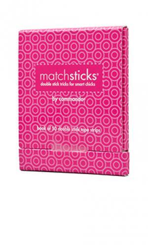 Match sticks Commando. Цвет: белый