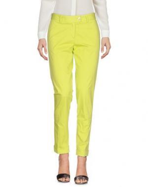 Повседневные брюки MÊME by GIAB'S. Цвет: кислотно-зеленый