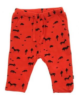 Повседневные брюки IMPS&ELFS. Цвет: красный