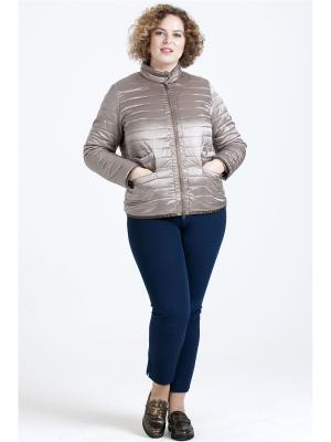 Куртка Modress. Цвет: коричневый,светло-коричневый,темно-бежевый