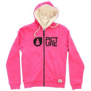 Толстовка утепленная детская  Basement Plush Kids Pink Picture Organic. Цвет: розовый