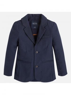 Пиджак Mayoral. Цвет: синий, лазурный