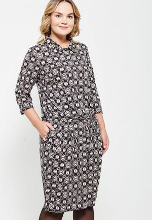 Платье Olsi. Цвет: серый