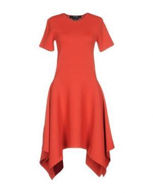 Платье до колена TY-LR. Цвет: красный